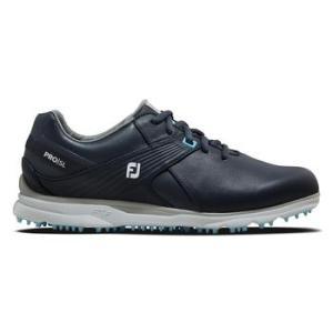 FootJoy Pro SL Ladies 2021 Golf Shoes - Navy/Light Blue