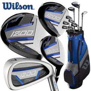 Wilson 1200 TPX Golf Package Set - Steel/Graphite