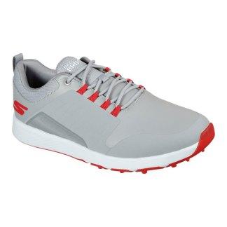Skechers Mens Elite 4 - Victory Golf Shoes - Grey/Red