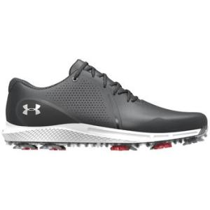 Under Armour Charged Draw RST Wide E Golf Shoes - Black/White