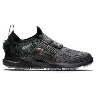 FootJoy Hyperflex Boa 2021 Golf Shoes - Black/Charcoal