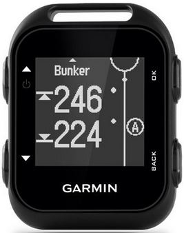 garmin approach g10 bunker hazards