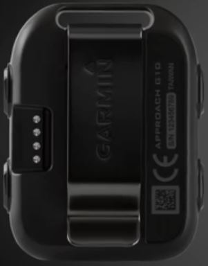 garmin approach g10 clip on design