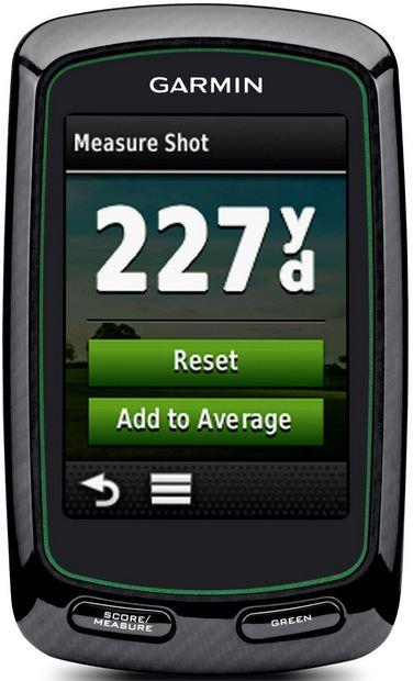 garmin approach g6 shot distance measurement