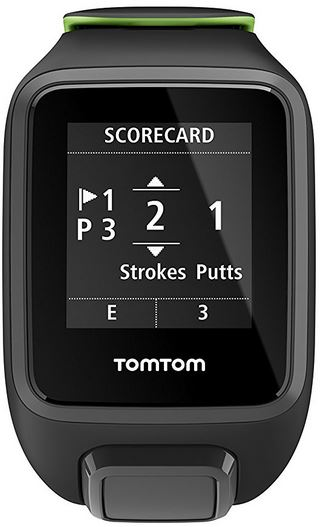 tomtom golfer 2 se scorecard