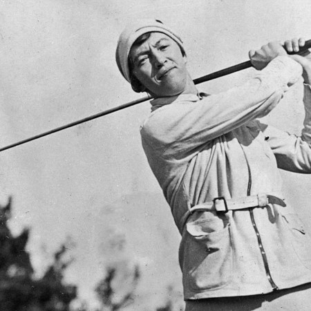 Ada Mackenzie pictured at the 1932 Bermuda Invitational Tournament, by kind permission of the Ladies' Golf Club of Toronto