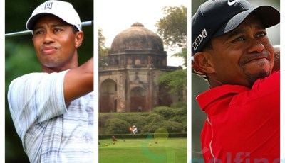 Tiger Woods to play the Delhi Golf Club