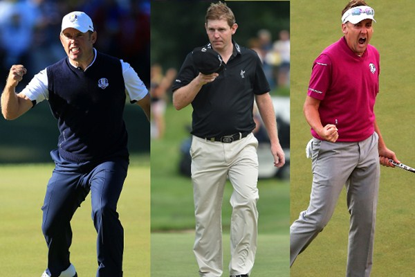 Wildcards for the Ryder Cup