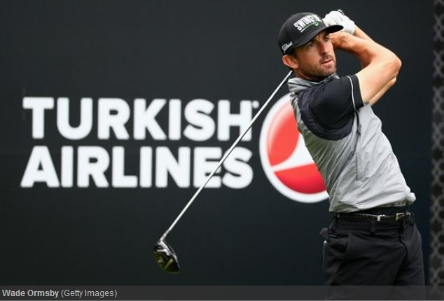 Wade Ormsby leads the Turkish Airlines Open by one shot