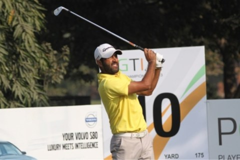 Amardip Sinh Malik leads the Noida Masters at 7-under through two rounds