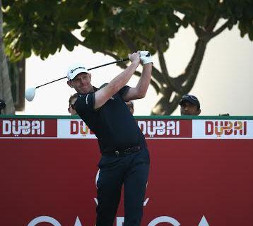 Stephen Gallacher is seeking to make it three in a row in Dubai