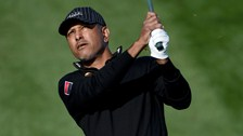 Jeev Milkha Singh shot 70 in the first round of the Omega Dubai Desert Classic