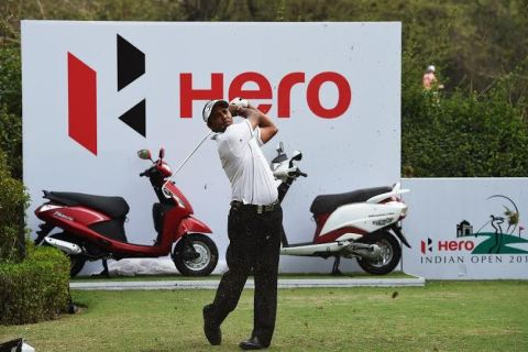 SSP Chawrasia leads by two at the Hero Indian Open 2015