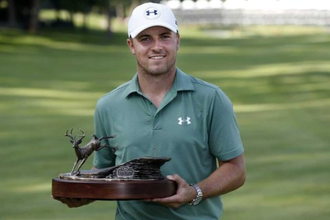 Jordan Spieth makes a spectacular finish to win the John Deere Classic