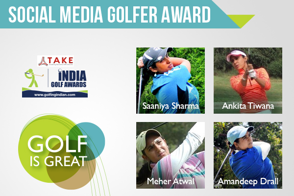 Social Media Golfer Award for Girls