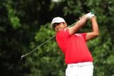 Anirban Lahiri finally enjoyed a good round of golf at the Sheshan International course