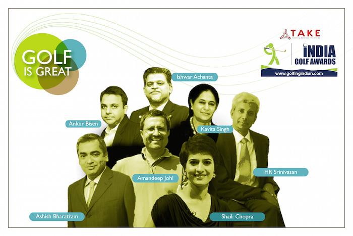 India Golf Awards Jury