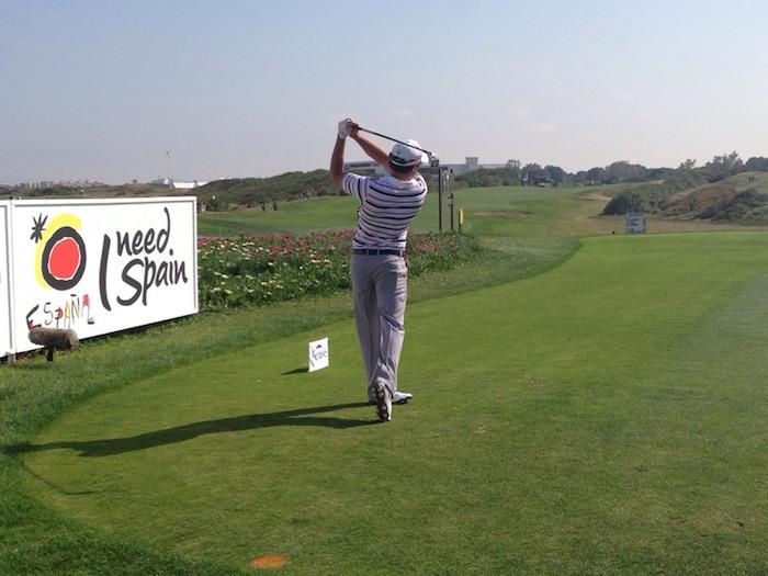Golfers in Spain