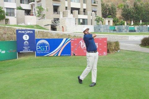 Pratap Atwal - Round 1 leader