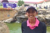 Aditi Ashok is playing well this week in the Czech Republic