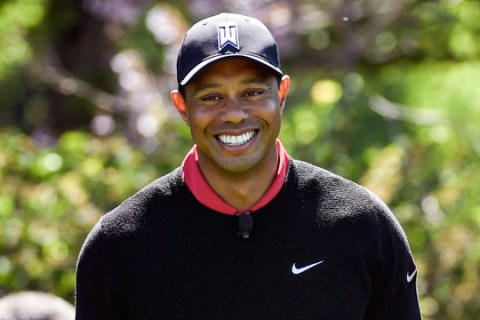 Tiger Woods has been able to play football and cycle with his kids, but is unable to set a date for his return