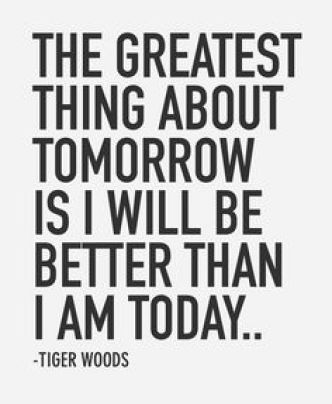 Golf Quotes by Tiger Woods