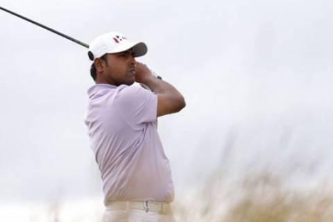Anirban Lahiri was impressive in the first round of WGC Bridgestone