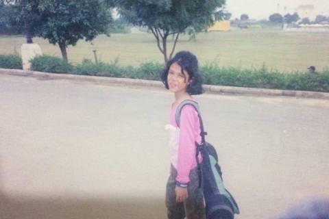 Vani Kapoor First Golf Bag