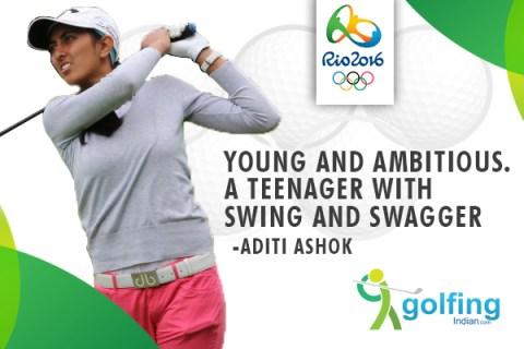 Aditi Ashok Olympics