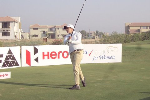 Amandeep Drall leading Rd 2 in 14th leg of Hero Women's Professional Golf Tour