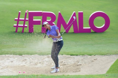 Aditi Ashok is lying T56 after three rounds of the FBM Ladies Open. She was even par through 54 holes with scores of 69-73-74. Georgia Hall is in the lead at 15-under 201