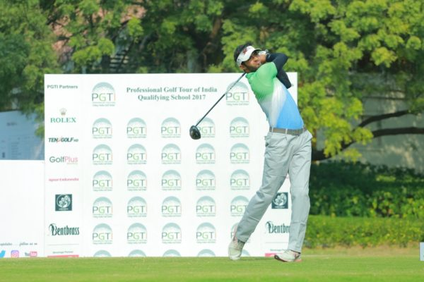 Dhruv Sheoran scored a handsome four stroke victory with a second straight 69 in the final stage of PGTI's qualifying school event