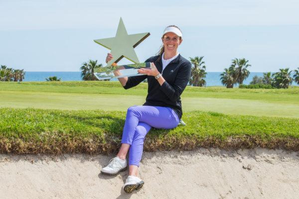 Florentyna Parker wins Mediterranean Ladies Open