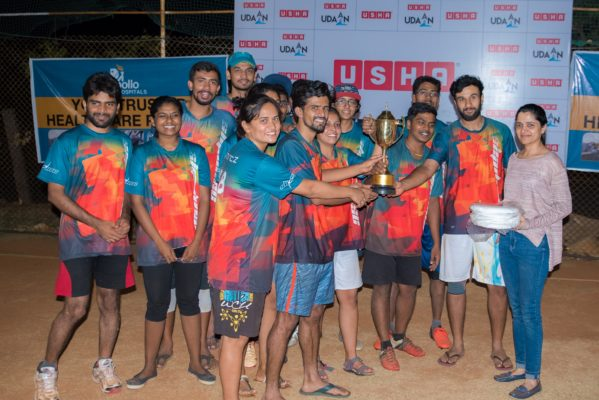 Team Slipdisc from Bangalore lifts Usha Udaan 2017 trophy