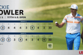 Rickie Fowler's 65 tied the best ever opening round in US Open history