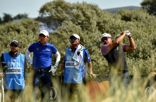 Prayad Marksaeng of Thailand pictured during an official practice round on Tuesday 18 July, during an official practice round ahead of the 146th Open Championship at the Royal Birkdale Golf Club, July 20-23, 2017. Picture by Paul Lakatos/Asian Tour.
