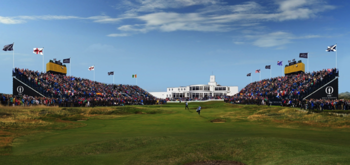 Royal Birkdale and its iconic clubhouse