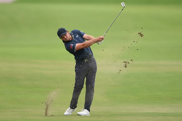 Eddie Pepperell shot 65 in the third round of the Qatar Masters