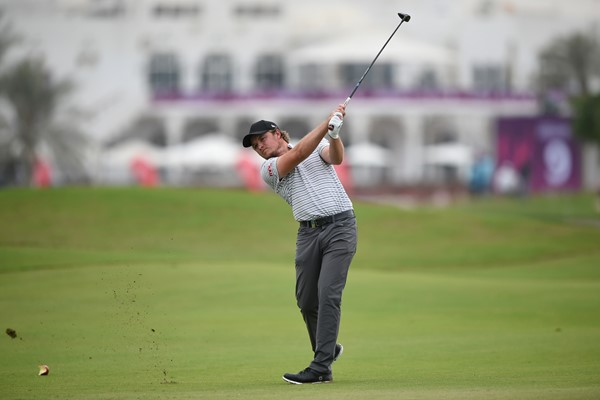 Eddie Pepperell shares rd 1 lead at Commercial Bank Qatar Masters