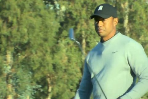 Tiger Woods playing Genesis Open at Riviera Course after twelve years