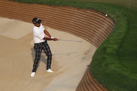 Anirban Lahiri at the Hero Indian Open