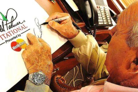 Arnold Palmer's autograph