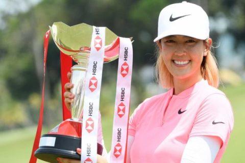 Michelle Wie wins HSBC Women's World Championship