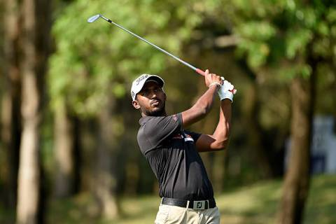 Chikkarangappa shot 68 in the first round of Panasonic Open Championship