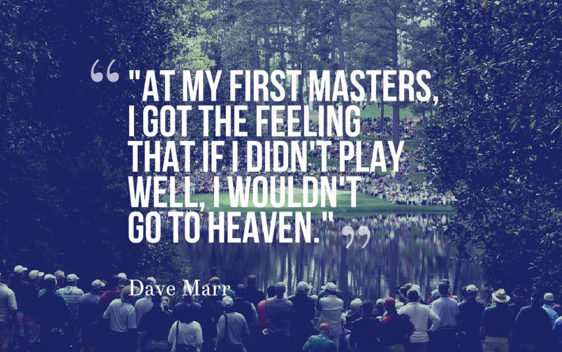 Best quotes of the masters tournament