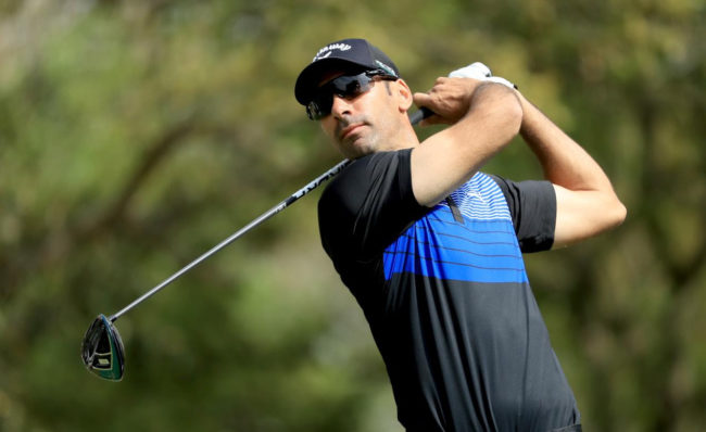 Alvaro Quiros shot 70 in the second round of Trophée Hassan II