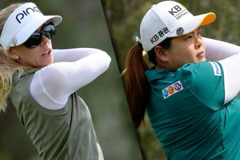 Sudden death play off between Inbee Park and Perlla Lindberg for ANA Inspiration title
