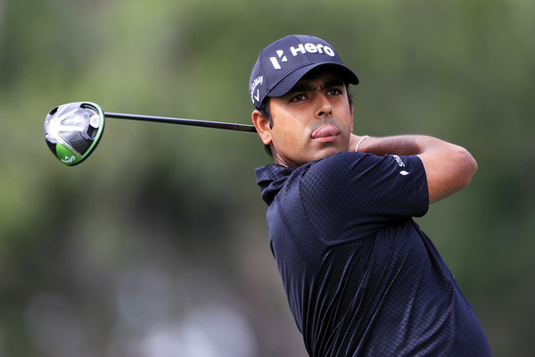 Anirban Lahiri at the Players Championship