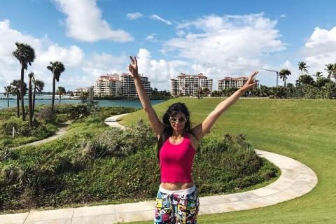 Sharmila Nicollet is looking for renewed success