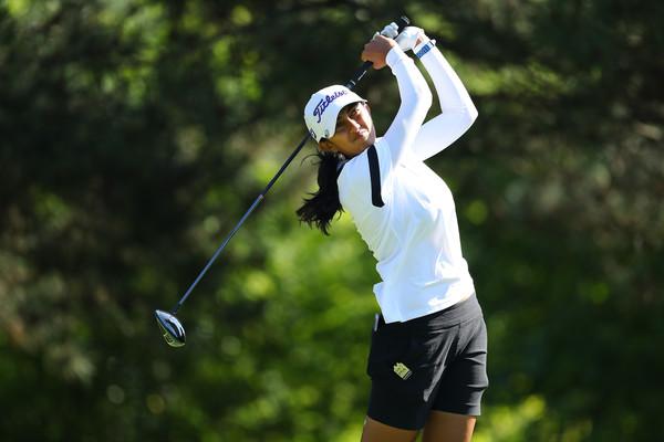 Aditi Ashok is lying T21 in the Women's PGA Championship